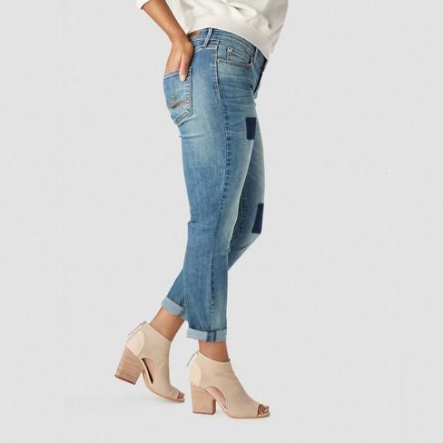 75ec14dd DENIZEN® From Levi's® Women's Mid-Rise Modern Slim Cuffed Jeans - Medium  Wash 8 : Target