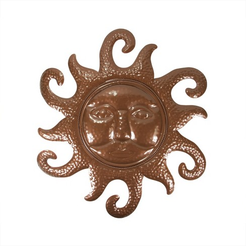 """Northlight 20.5"""" Chocolate Brown Sunshine Outdoor Patio Wall Decoration - image 1 of 1"""