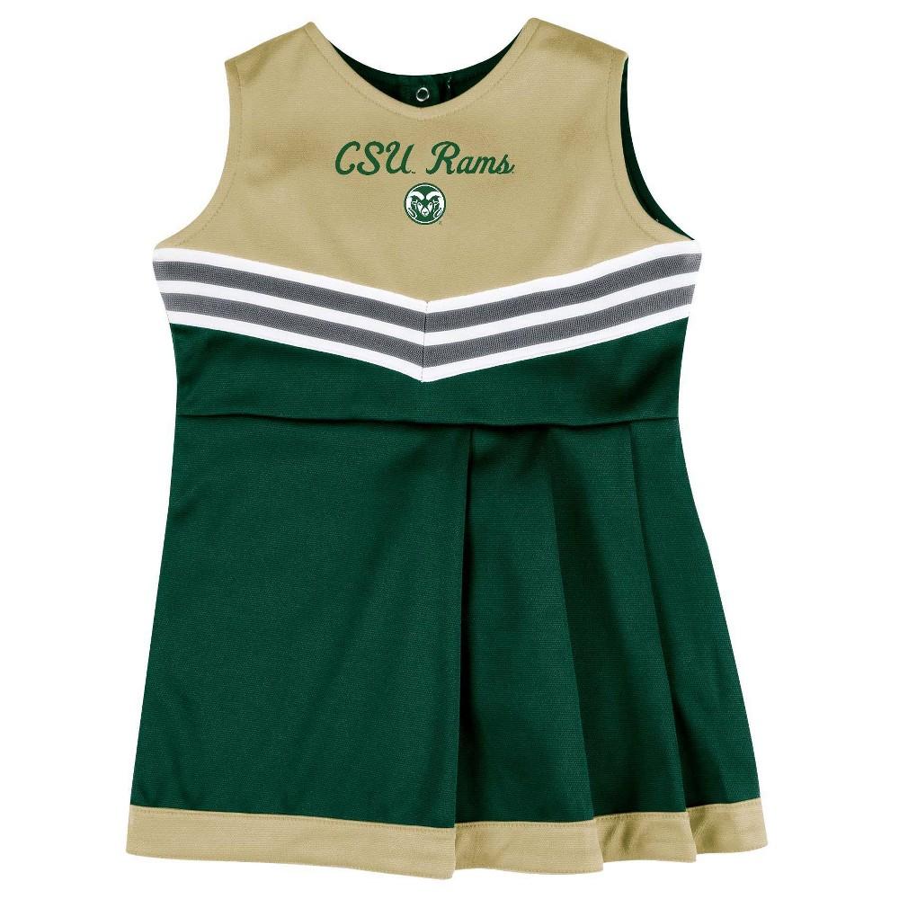 Ncaa Colorado State Rams Girls 39 2pc Cheer Set 3t