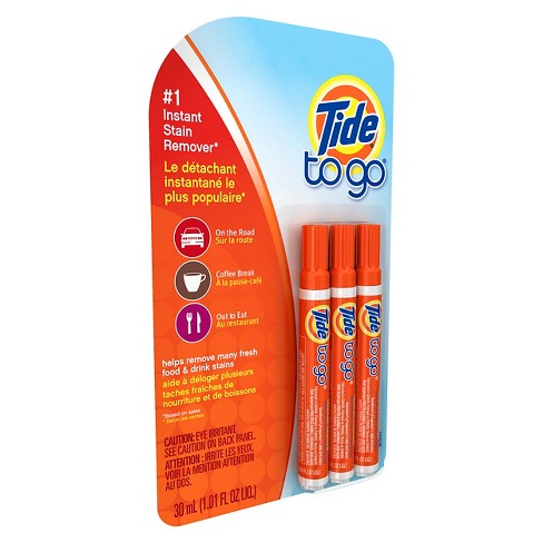 Tide To Go Stain Remover Pen - 3 ct - image 1 of 3