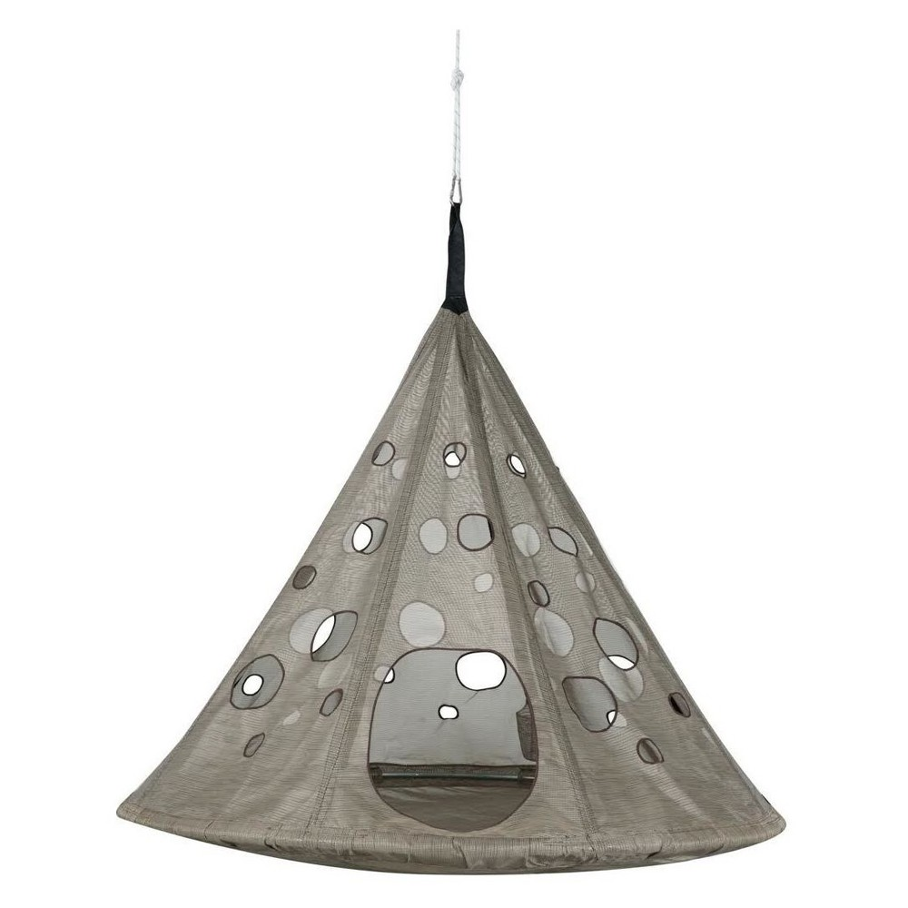 Image of Moondrop Hanging Chair - Bark - FlowerHouse