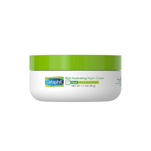 Cetaphil Rich Hydrating Night Cream - 1.7oz - image 1 of 4