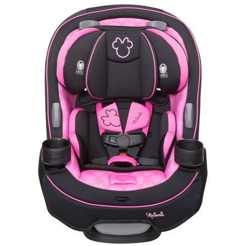Disney Safety 1st Grow Go 3 In 1 Convertible Car Seat Simply Minnie Target