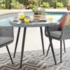"""Endeavor 36"""" Wicker Rattan Patio Dining Table Gray - Modway - image 2 of 3"""