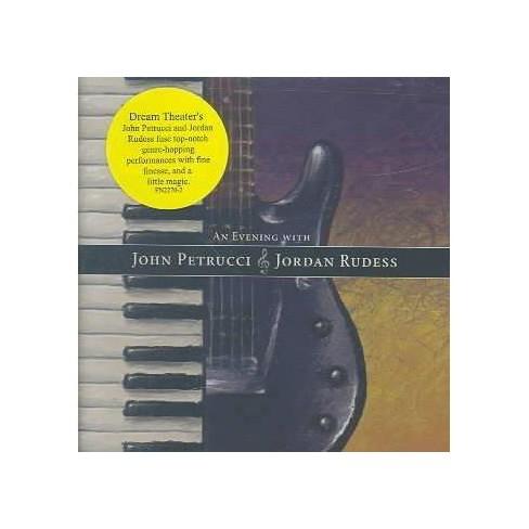 John Petrucci - Evening with John Petrucci & Jordan Rudess (CD) - image 1 of 1