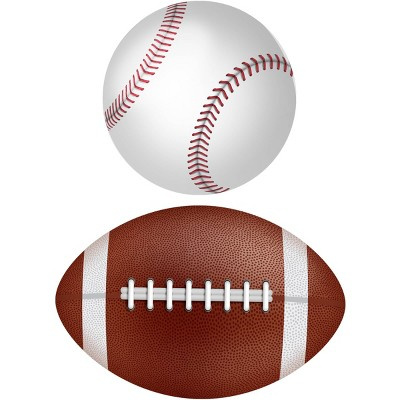 Baseball and Football Placemat Set of 2 - A & A Story
