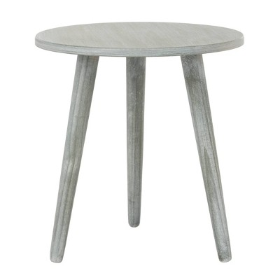 Orion Round Accent Table Slate Gray - Safavieh : Target