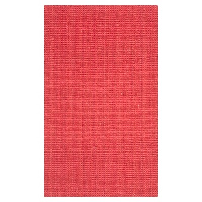 Red Solid Loomed Accent Rug 2'x3' - Safavieh