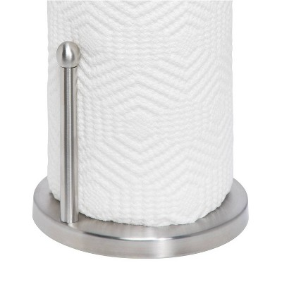 Honey Can Do Stainless Steel Paper Towel Holder