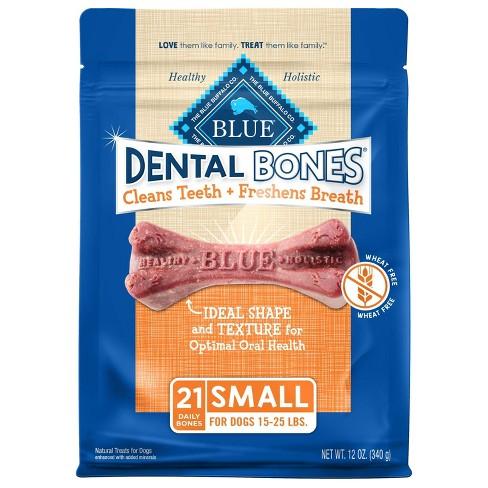 Blue Buffalo Dental Bones for Dog - Small - image 1 of 4
