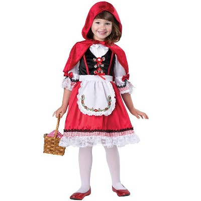 InCharacter Storybook Red Riding Hood Toddler Costume