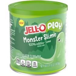 Jell-O Play Monster Slime Lime - 14.8oz