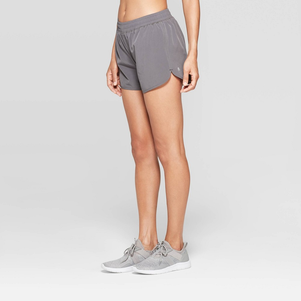 Women's Running Mid-Rise Shorts 3.5 - C9 Champion Gray L