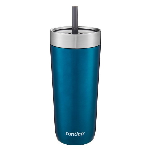 Contigo 18oz Stainless Steel Luxe Tumbler with Spill-Proof Lid and Straw   - image 1 of 4