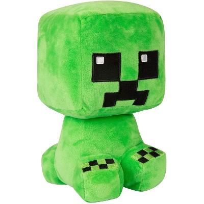 JINX Inc. Minecraft Craft Adventure Series 8.75 Inch Collectible Plush   Creeper