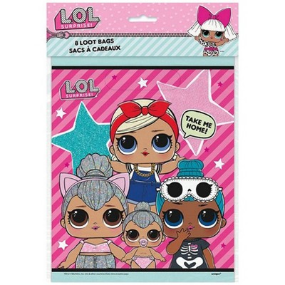 L.O.L. Surprise! 8ct Party Favor Loot Bags