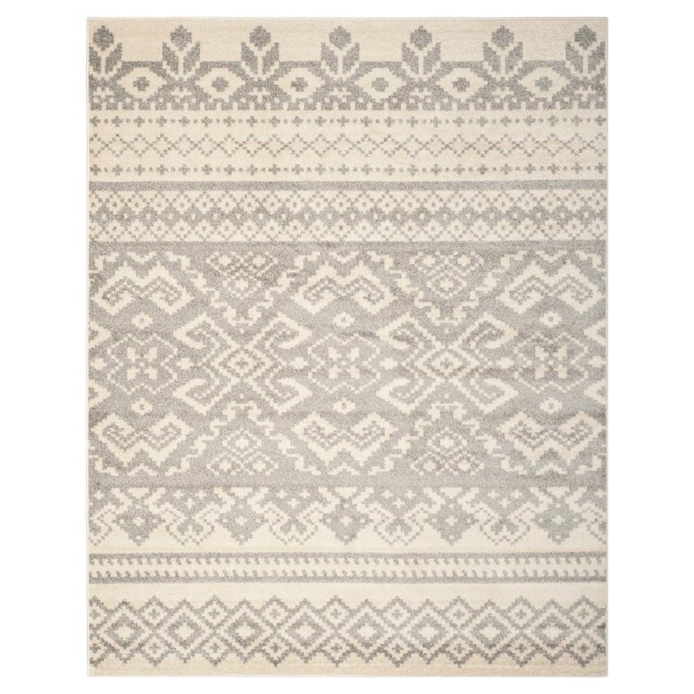 Adron Area Rug - Ivory/Silver (11'x15') - Safavieh