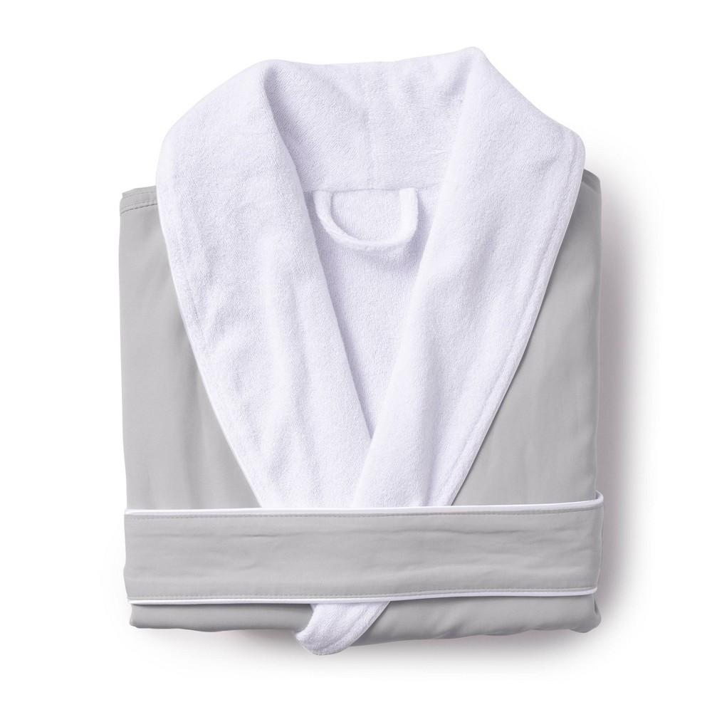 Platinum Bath Robe S M Sage Cassadecor
