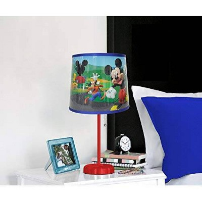 Disney Mickey Mouse Head Stick Lamp