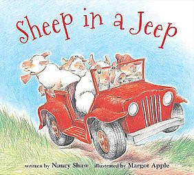 Sheep in a Jeep ( Sheep in a Jeep)(Board)by Nancy E. Shaw