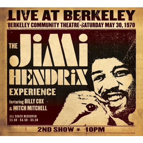 Jimi Hendrix Experience - Jimi Hendrix Experience Live At Berkeley (Vinyl) - image 1 of 1