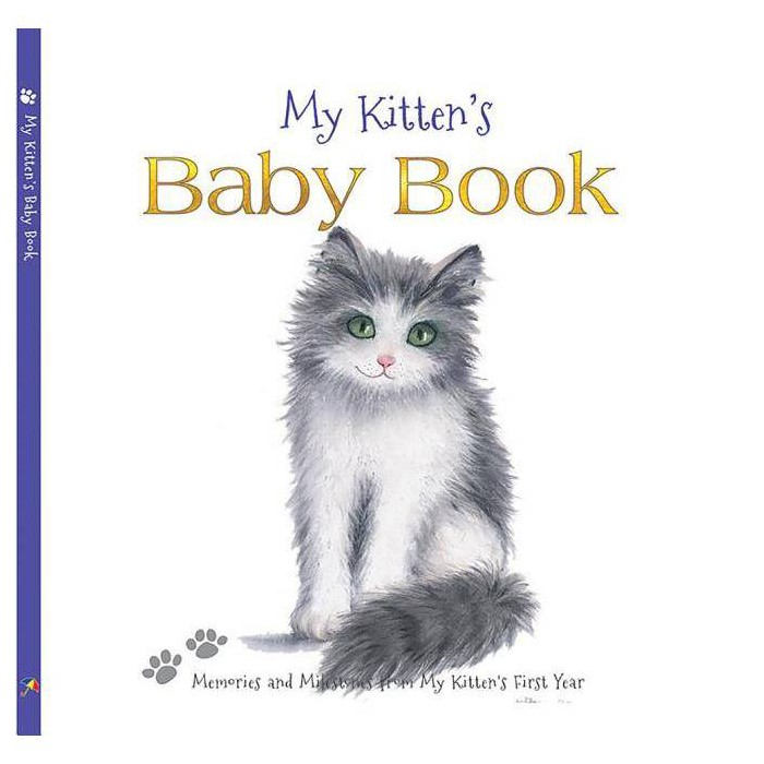 My Kitten's Baby Book - by  Wendy Straw (Hardcover) - image 1 of 1