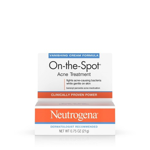 Skin Care New Neutrogena On-the-spot Maximum Strength Effectiveness Acne Treatment 0.75 Oz Professional Design