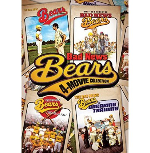 Bad News Bears 4-Movie Collection (DVD) - image 1 of 1