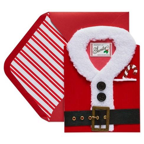 Santas Jacket Card - PAPYRUS - image 1 of 4