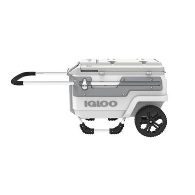 Igloo Trailmate Marine Hard Sided Portable 70qt Cooler - White
