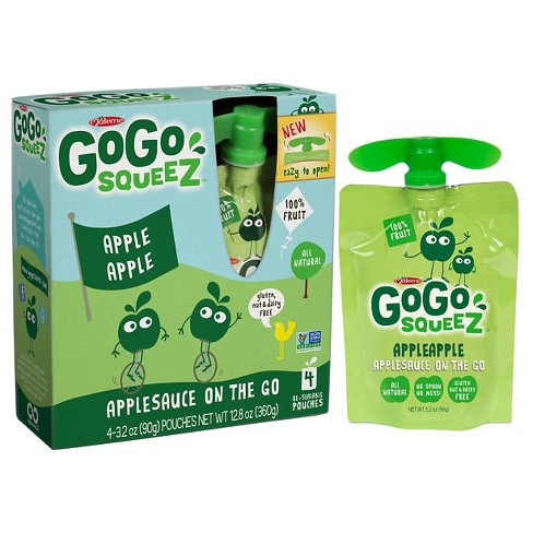 Gogo SqueeZ Applesauce On The Go Apple Pouches 48ct - 3.2oz - image 1 of 1