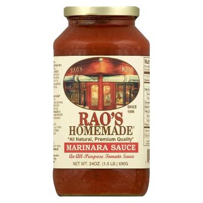 Pasta Sauce: Rao's Homemade