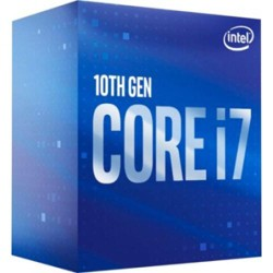 Intel Core i7-10700 Desktop Processor - 8 cores and 16 threads - Up to 4.80 GHz Turbo speed - Socket FCLGA1200 - Intel Optane Memory supported