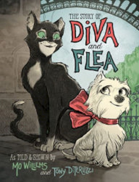 The Story of Diva and Flea (Hardcover) by Mo Willems - image 1 of 1