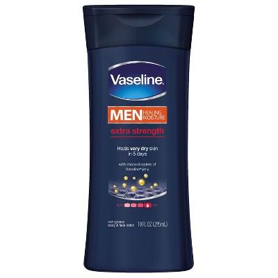 Body Lotions: Vaseline Men Extra Strength