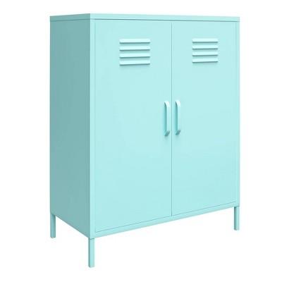 2 Door Cache Metal Locker Storage Cabinet - Novogratz