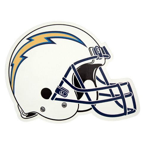 6a4030f0a2c NFL Los Angeles Chargers Small Outdoor Helmet Decal   Target