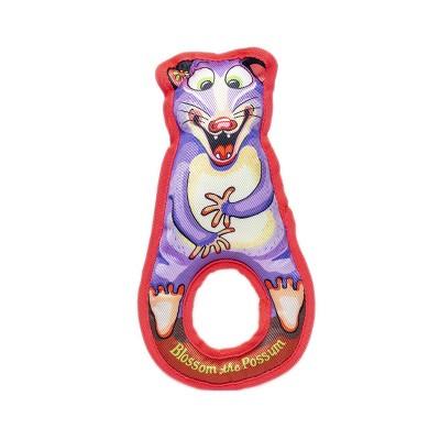 Fuzzu Grab Nabbers Possum Dog Toy
