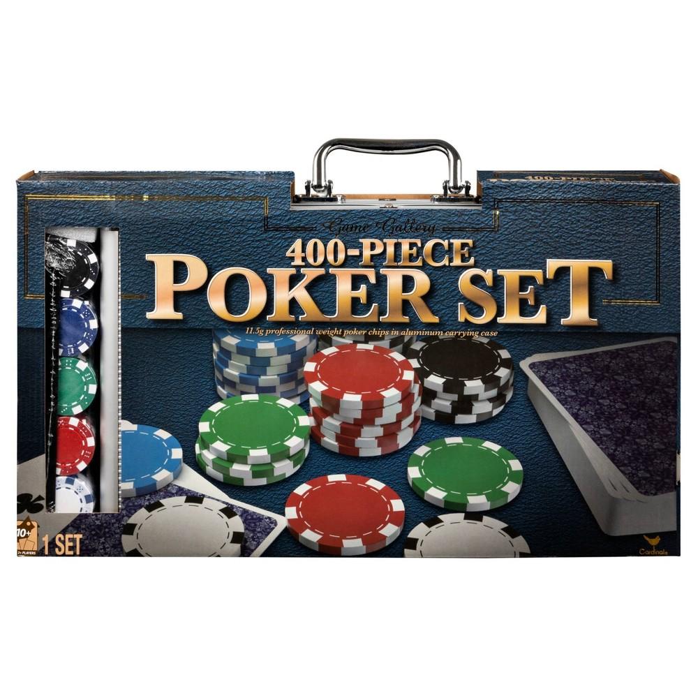400pc Poker Game Set