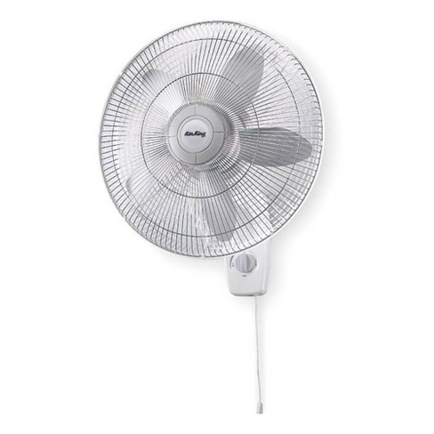 Air King AK-9018 18 Inch 1/20 HP 3-Speed Motor Indoor Oscillating Wall-Mount Fan - image 1 of 4