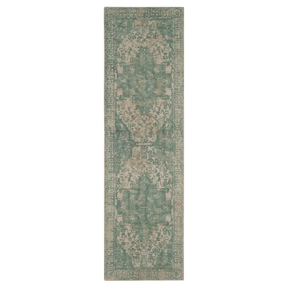 Restoration Vintage Rug - Grey/Ivory - (2'3x8') - Safavieh, Gray/Ivory