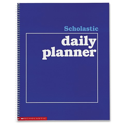 Scholastic Daily Planner, Grades K-6, 11 x 8-1/2, 88 Pages - image 1 of 1