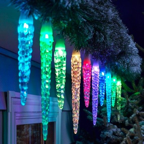 + 2 more - Philips 20ct Christmas LED 16 Function Molded Icicl : Target