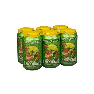 Saint Arnold Fancy Lawnmower Beer - 6pk/12 fl oz Cans