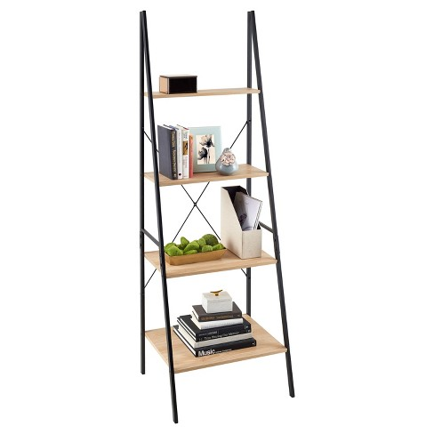 Ladder Bookshelf Mixed Material