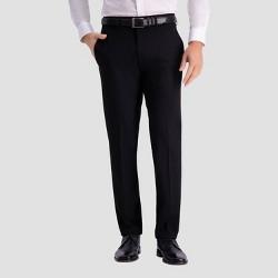 Haggar H26 Men's Slim Fit Premium Stretch Suit Pants - Black