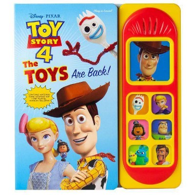 Disney Pixar Toy Story 4 - The Toys are Back! Little Sound Book (Board Book)