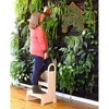 Kids' High Rise Step-Up Stool Natural - Guidecraft - image 2 of 3