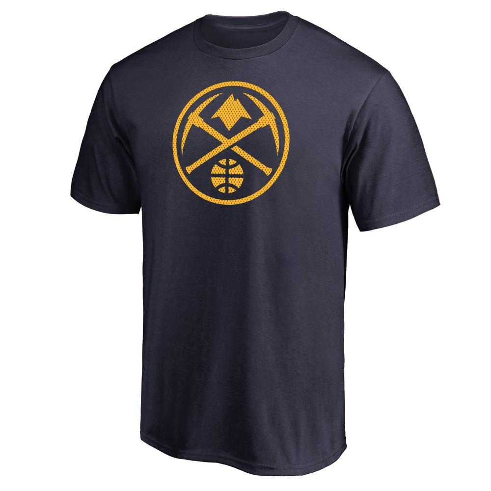 Denver Nuggets Men's Monochrome Standard T-Shirt - XL, Multicolored
