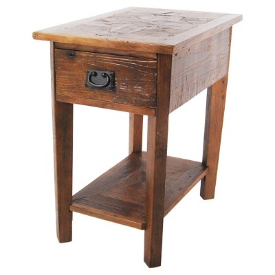 Revive Reclaimed Chairside Table Natural - Alaterre Furniture